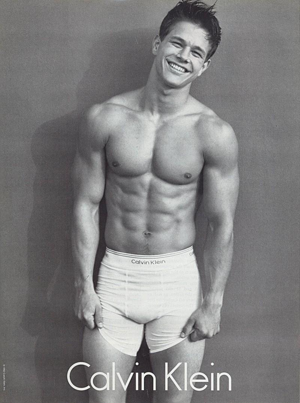 celebrity calvin klein underwear ads mark wahlberg