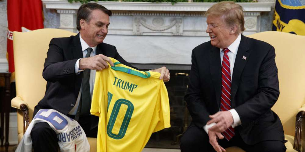 Today in Washington, D.C., Trump and Bolsonaro Bond Over Their Shared Homophobia and Bigotry