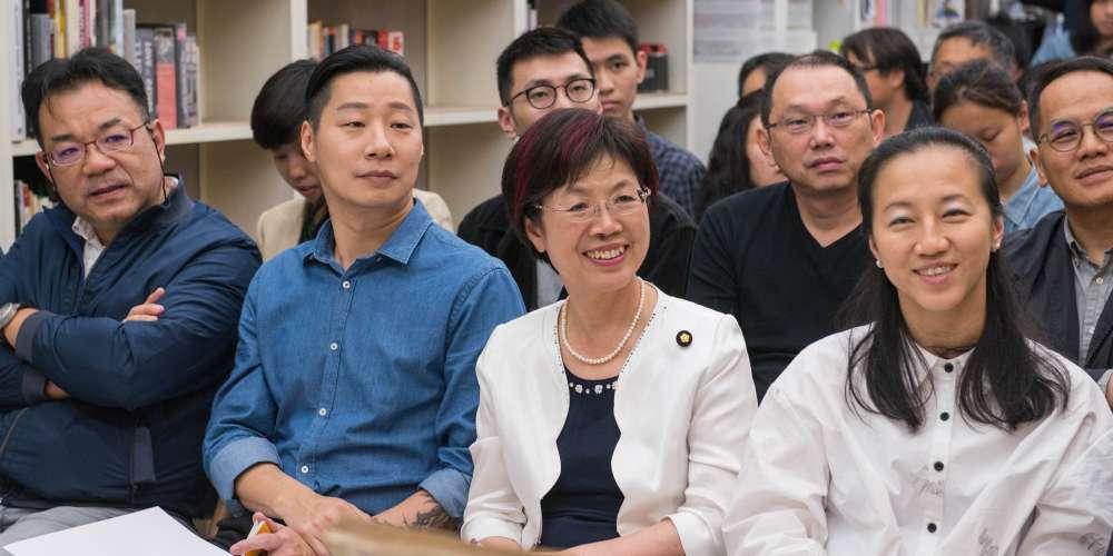 立法委員尤美女、林昶佐站台,台灣第一家攝影圖書館遷址正式開幕!