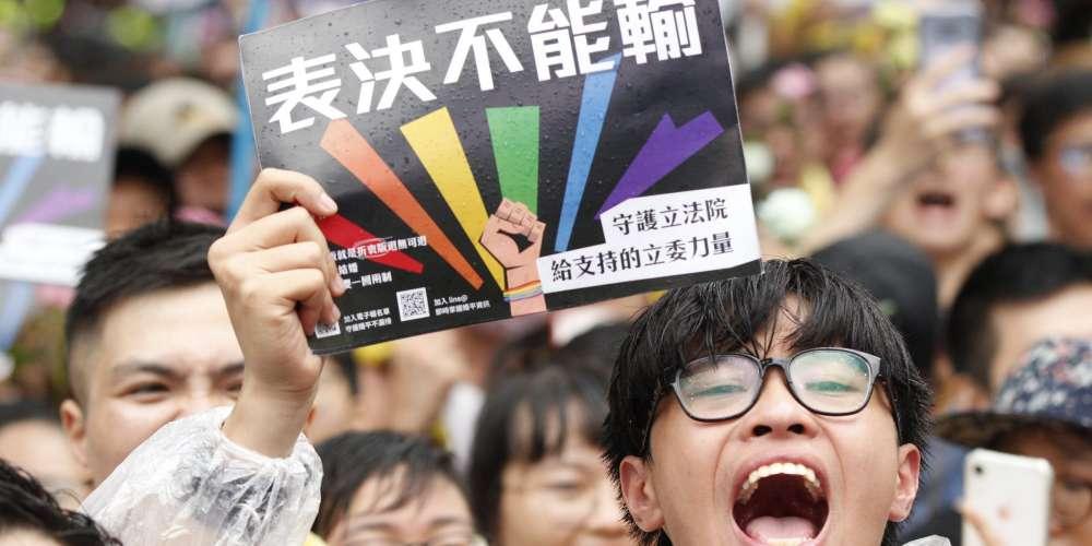 恭喜台灣通過同婚法案,成為亞洲第一!
