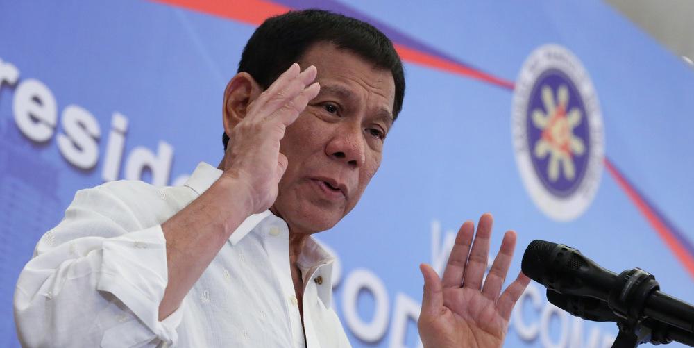 Le président philippin aimait les hommes mais «il s'est soigné»
