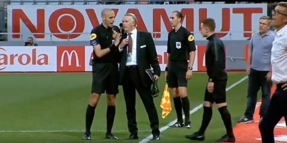 Un match de foot interrompu en raison de chants homophobes