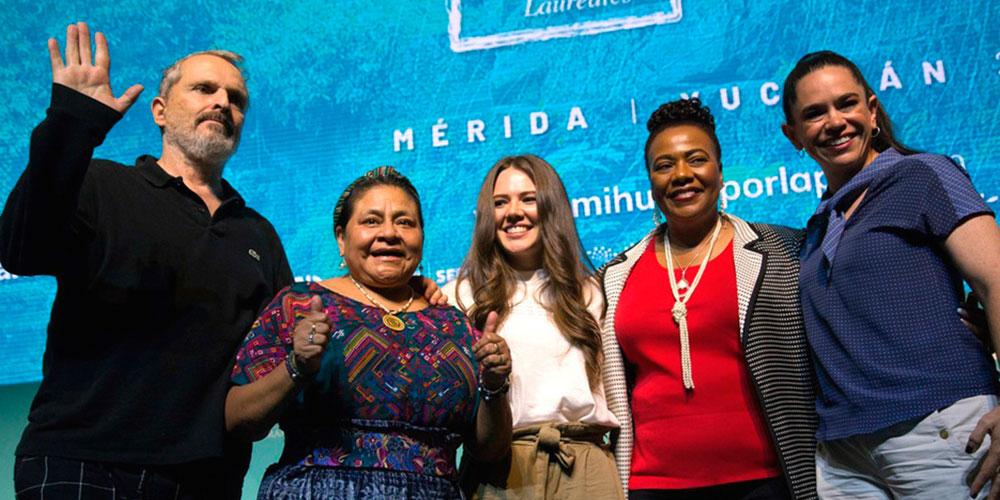 Ricky Martin, Miguel Bosé, Joy Huerta y Diego Luna Alzan la Voz por los Derechos LGBT en la Cumbre de los Premios Nobel de la Paz