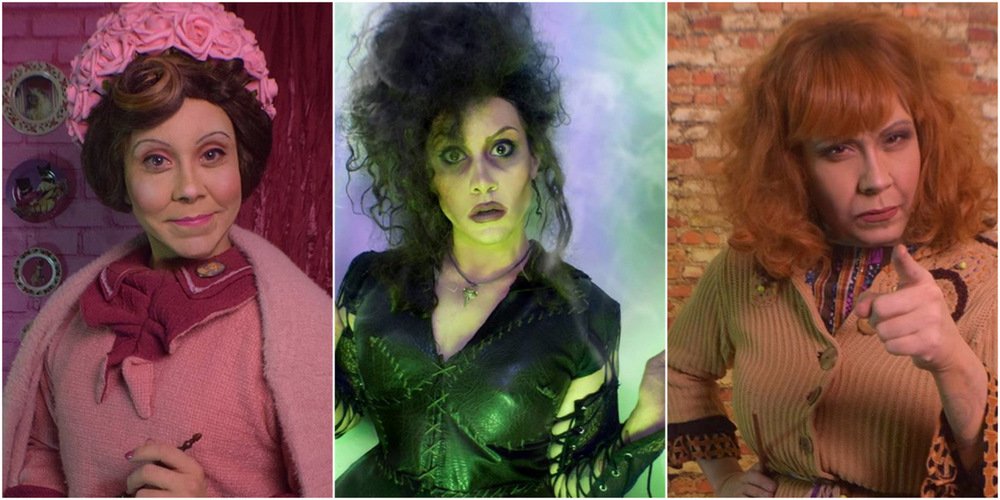 La drag-queen Phi Phi O'hara recrée les personnages de Harry Potter et c'est époustouflant
