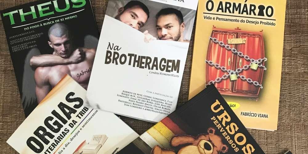 Escritor premiado Fabrício Viana promove noite de autógrafos em bar gay de SP