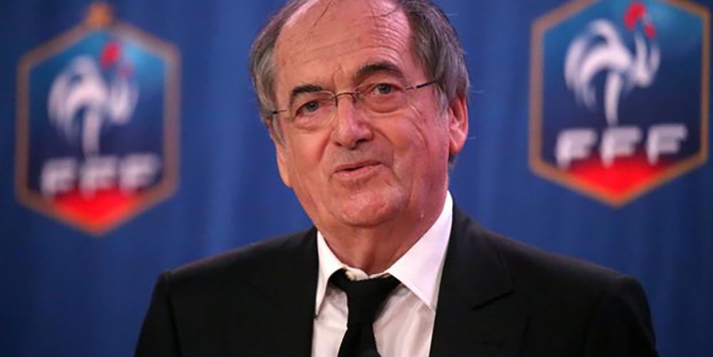 Foot: Le président de la FFF revient sur ses propos concernant l'arrêt des matchs en cas d'homophobie