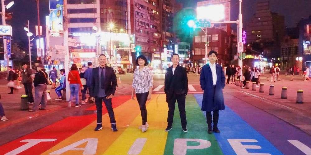 《叔‧叔》金馬影展感動首映 導演楊曜愷西門町遇「彩虹」大喜