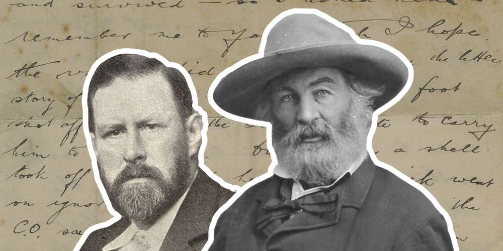 As a Young Man, Bram Stoker Wrote a 'Love Letter' to His Queer Literary Idol, Walt Whitman