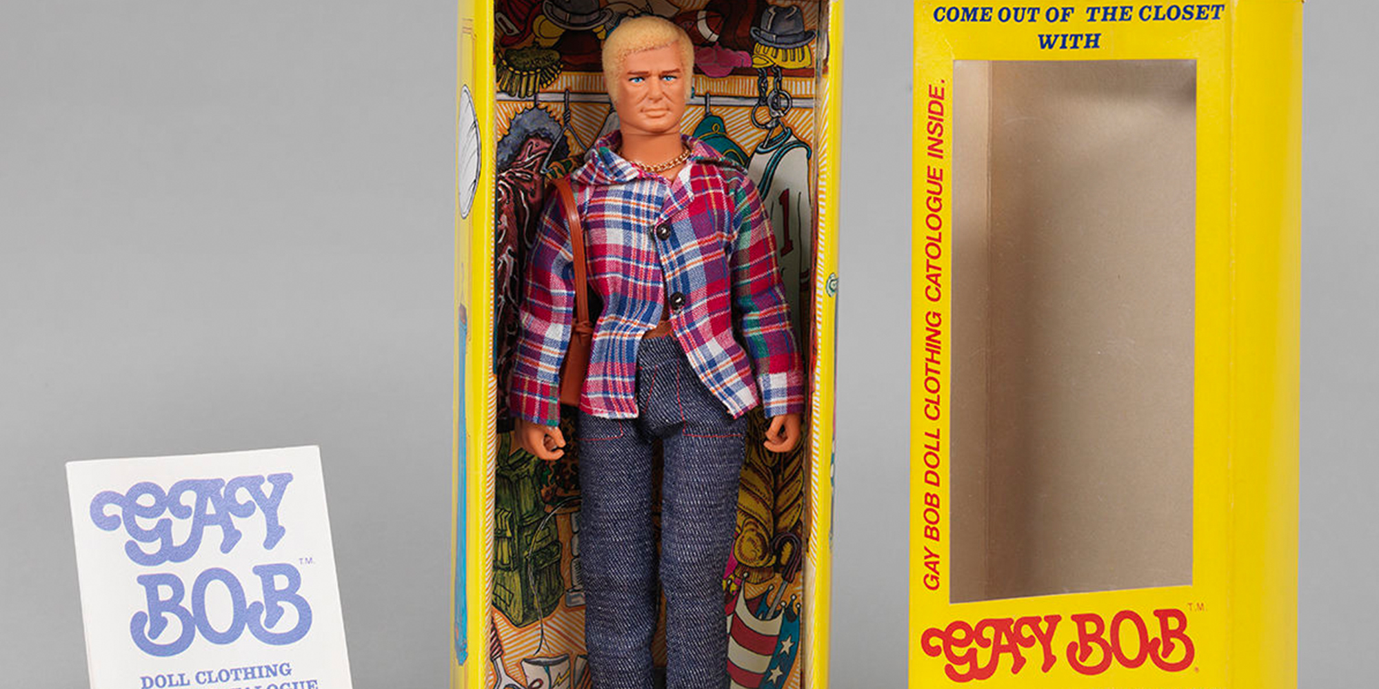 In 1978, the Anatomically Correct 'Gay Bob' Doll Delighted Gays and Freaked Out Homophobes