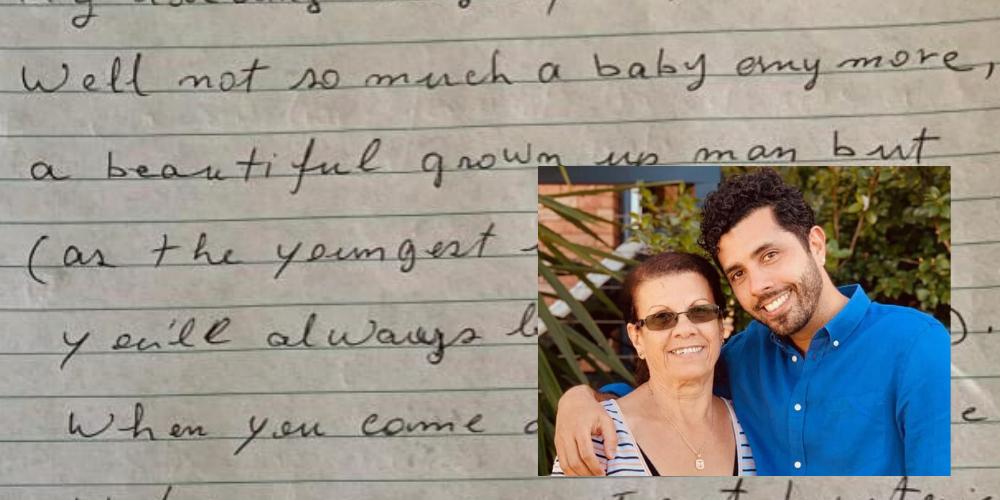 Mãe escreve carta de desculpas a filho por reação ao descobrir que ele é gay