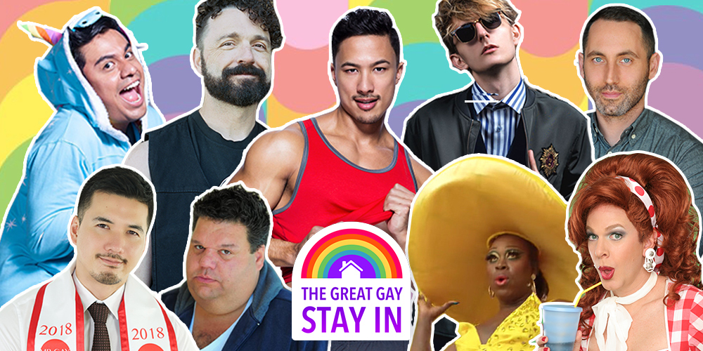 On April 23, Hornet Hosts the #GreatGayStayIn, an LGBTQ Livestream Festival