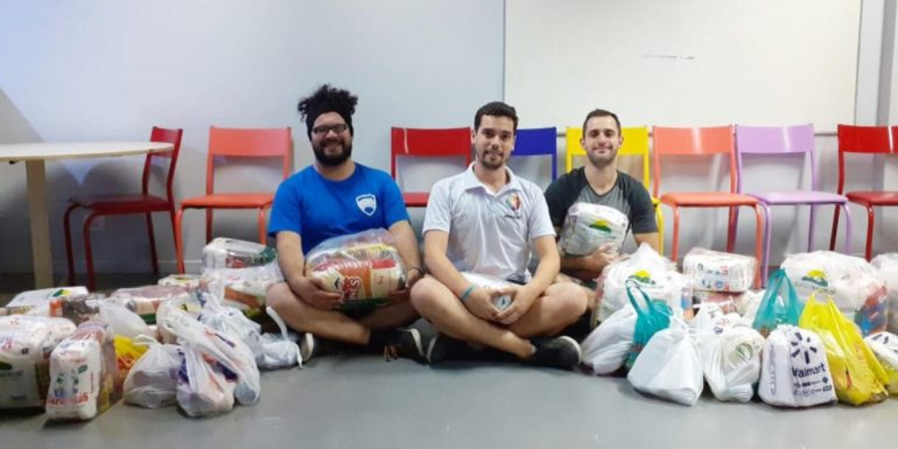 Organizações LGBTI+ arrecadam mais de uma tonelada de alimentos em Curitiba