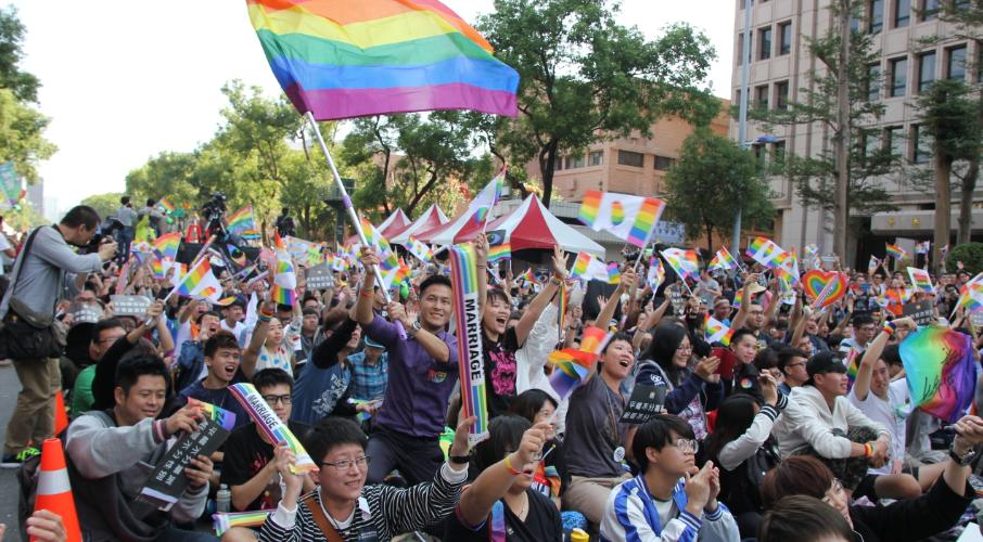 同婚專法上路滿一週年 彩虹平權大平台啟動「看見彩虹好日|不再恐同集資計畫」