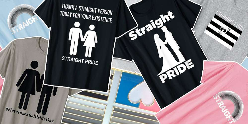 As If Things Couldn't Get Worse, Straight Pride Products Are Available on Amazon