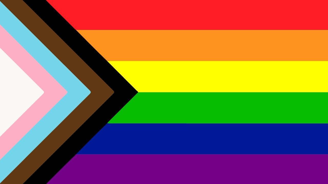 lgbtq flags progress pride flag