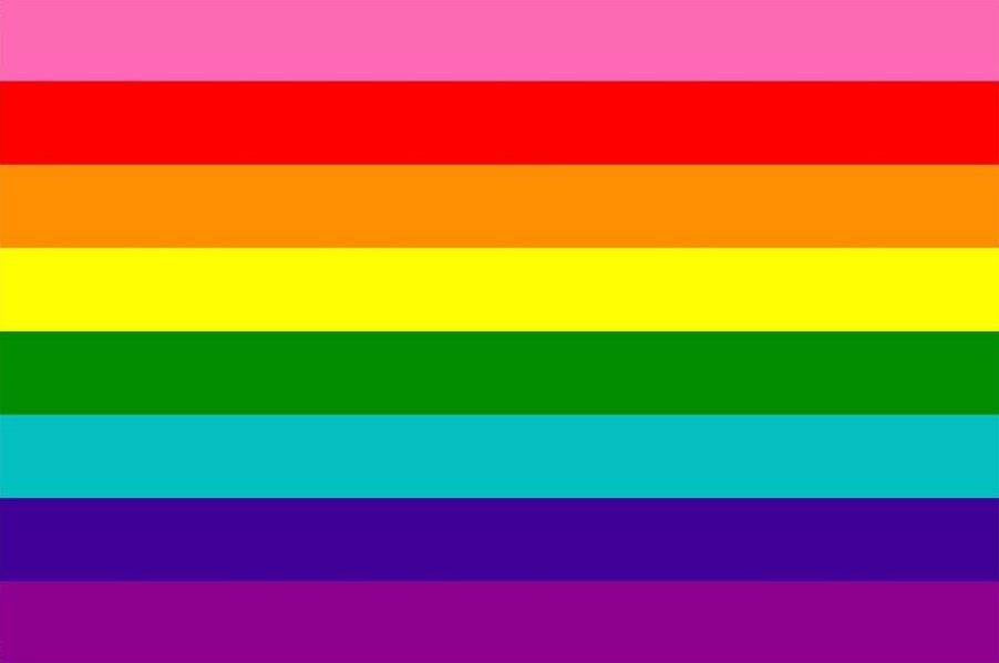 lgbtq flags original gilbert baker pride flag