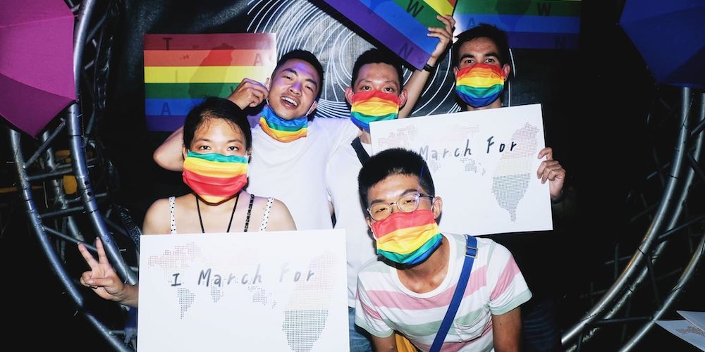 This Sunday, Taiwan Will Host One of the World's Only In-Person Pride Celebrations
