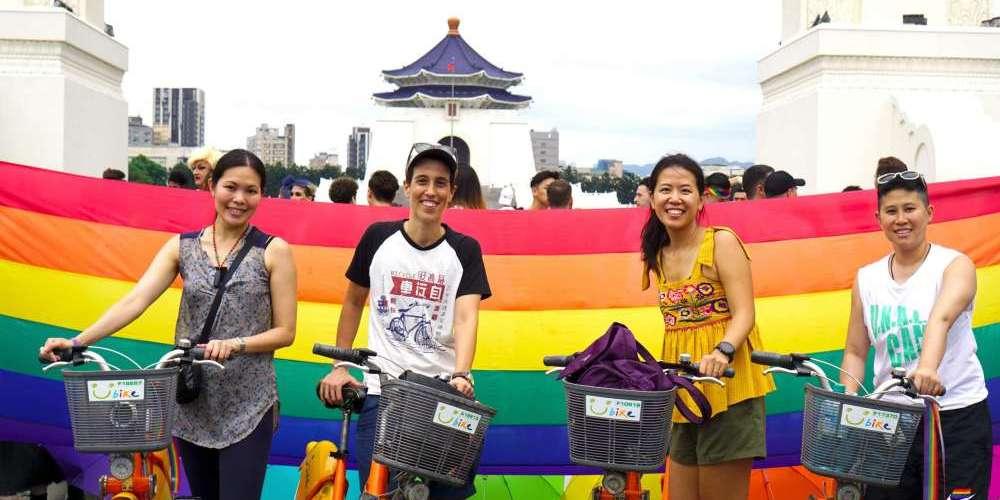 台灣將首度舉辦亞洲彩虹騎行