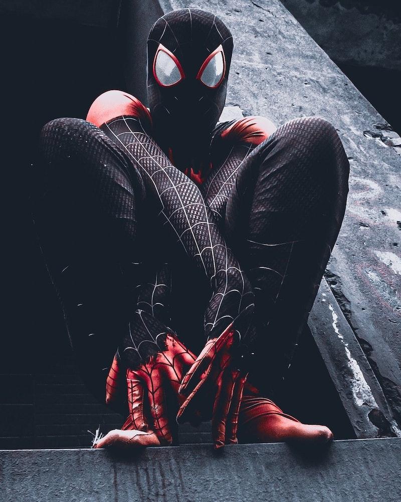 hornet halloween costume contest spiderman