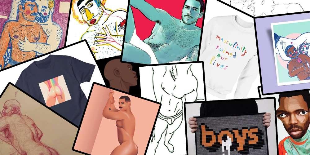 Роботи цих 10 гей-художників можуть стати чудовими подарунками в святковий сезон