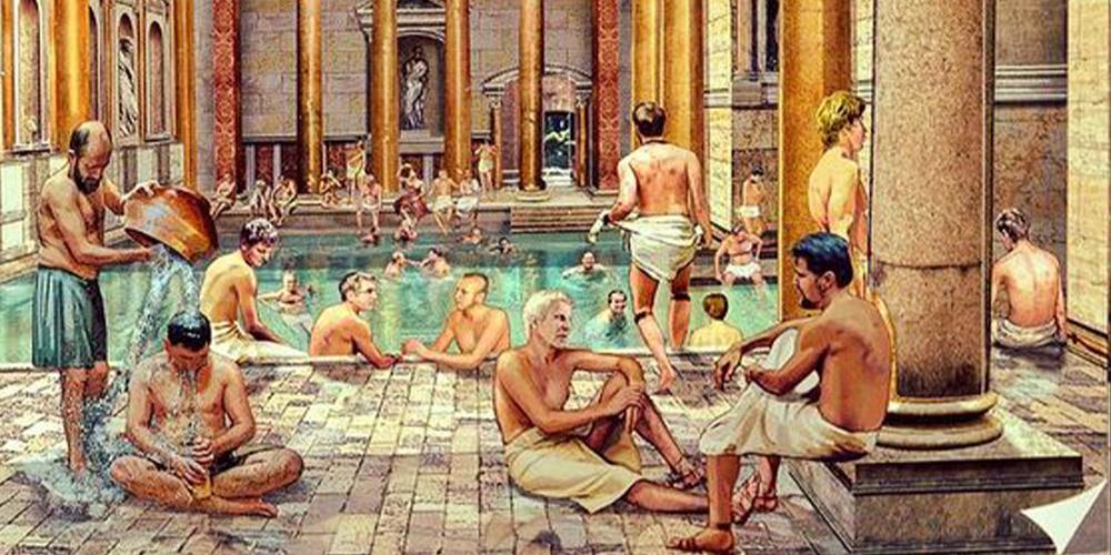 การใช้ฉี่ให้เป็นประโยชน์กับชาวโรมันโบราณ เช่นการฟอกสีฟัน