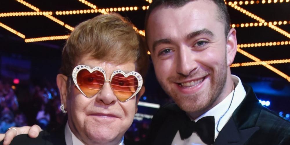 Elton John fará mega live com Sam Smith e convidados no Dia Mundial do HIV