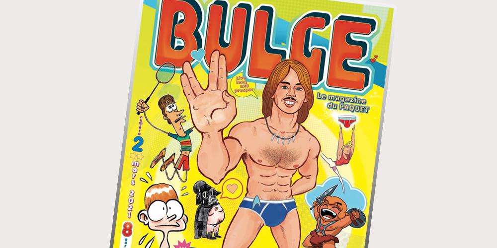 Pour son deuxième numéro, la revue «Bulge» met le paquet