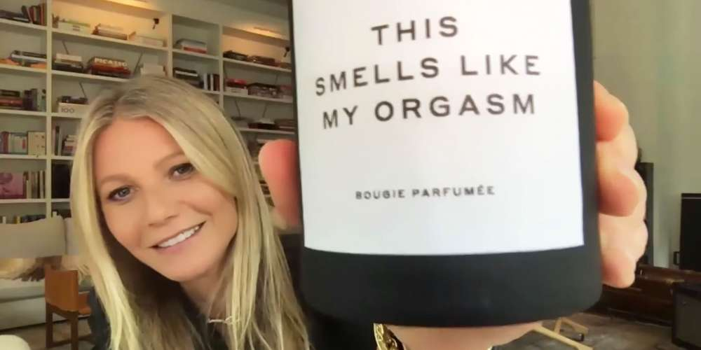 How Does Gwyneth Paltrow Know What Your Orgasm Smells Like?