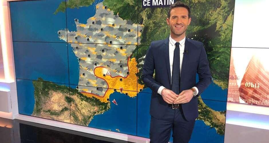 Marc Hay, présentateur météo de BFMTV, a fait son coming-out